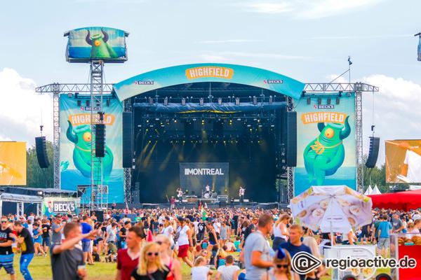 Starker Auftakt - Highfield Festival 2018 mit Billy Talent, Marteria, Broilers und den Fanta 4