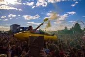 Politisch: Bilder von Feine Sahne Fischfilet live beim Highfield Festival 2017