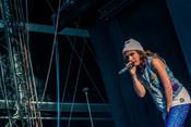 Rap aus Berlin: Live-Fotos von Sookee beim Highfield Festival 2017