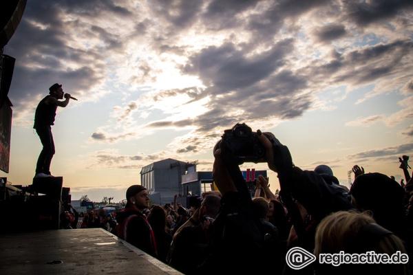Voll auf die 12 - Lärmgarantie: Fotos der Donots live auf dem Highfield 2017
