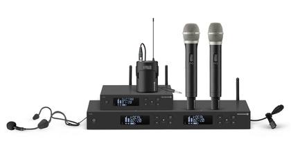 40 MHz Schaltbandbreite - Zweikanaliger UHF-Diversity-Empfänger von beyerdynamic mit besonders benutzerfreundlicher Bedienung