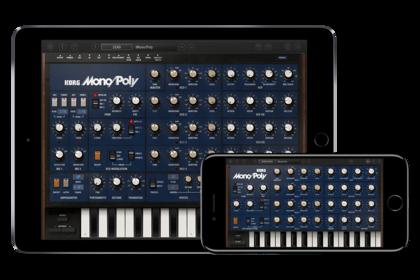 Legendär - KORG iMono/Poly: Analogsynthesizer mit 4 Oszillatoren für iOS-Geräte!