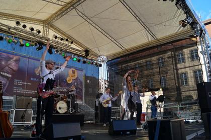 Anna Partué über den Auftritt beim Blues & Jazz-Festival Bamberg und ihre Führung im Musikhaus Thomann