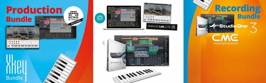 Recording- und Production-Tool: Gewinne eins der neuen Xkey-Software-Bundles!
