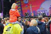 Impressionen vom Samstag beim Lollapalooza 2017