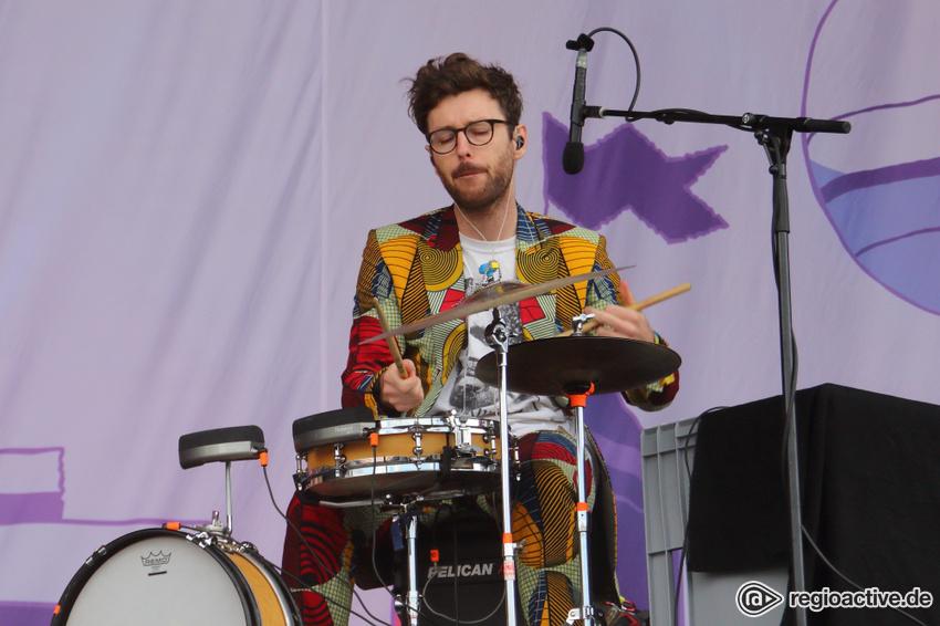 Bonaparte live beim Lollapalooza 2017