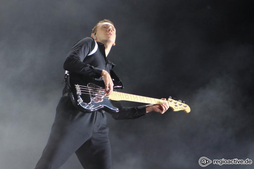 The xx live beim Lollapalooza 2017
