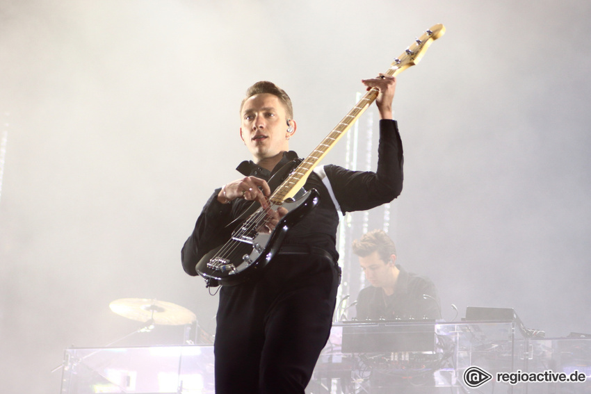 The xx live beim Lollapalooza 2017