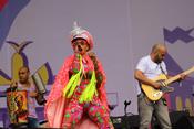 Hispanobeats: Fotos von Bomba Estéreo beim Lollapalooza 2017