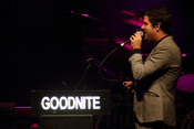 Mister Goodnite: Live-Bilder des Support-Acts der Sparks in Berlin am 12.9.2017