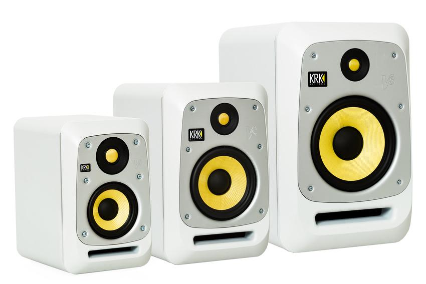 Farbklarheit: Die KRK V Serie 4 nun auch in weiß erhältlich