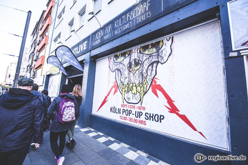 Metallica Pop - Up Store (Köln, 2017)