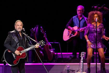 Vollprofi - Neil Diamond: Live-Fotos des Jubilars aus der SAP Arena in Mannheim