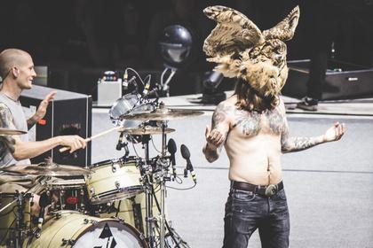 Ornithologischer Ausflug - Live-Fotos von Kvelertak als Support von Metallica in Köln