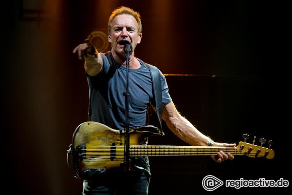 Bemerkenswert - Sting präsentiert sich in der SAP Arena Mannheim als unverwüstlicher Superstar