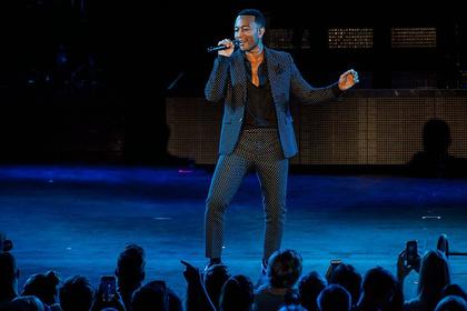 Tradition und Moderne - John Legend spielt in der Frankfurter Jahrhunderthalle eine stilvolle Soul-Revue