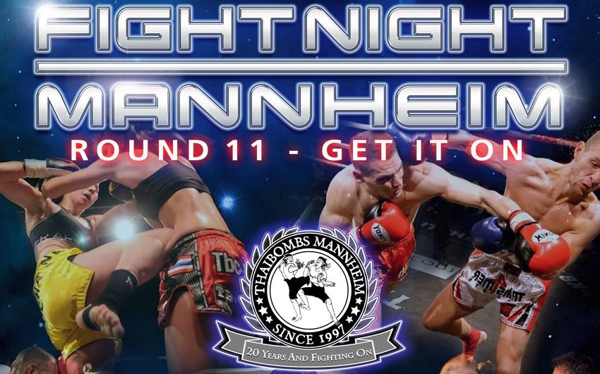 Schläge für lau - Gewinnt 2x2 Tribünen- oder 2x2 Ring-Karten für die Fight Night Mannheim