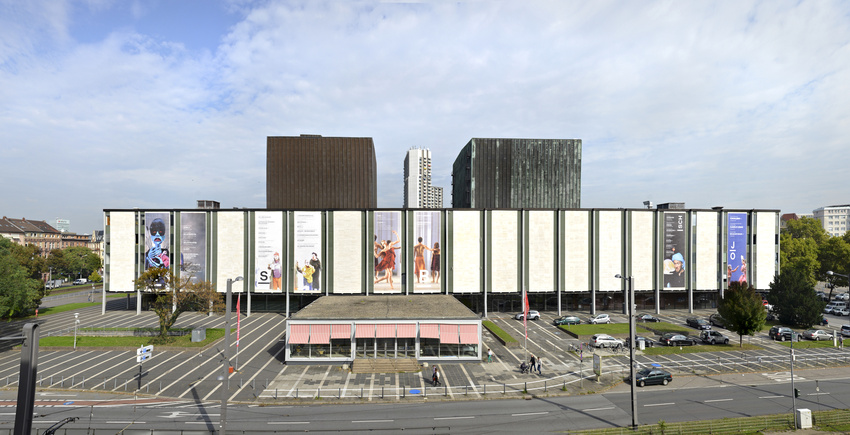 Nationaltheater Mannheim (Außenansicht)