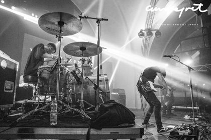 Authentisches Trio - Live-Fotos: Van Holzen als Special Guest beim Rockbuster Finale 2017