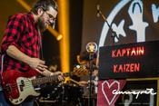 Leinen los! Live-Bilder von Kaptain Kaizen beim Rockbuster Finale 2017