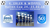 4. Erler & Wöppel Hallen-Cup in Mannheim, Sport, 24.02.2018, Herbert-Lucy-Halle -