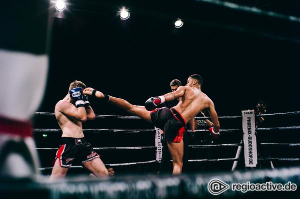 Voller Körpereinsatz - Fotos der C-Klasse-Kämpfe bei der Fight Night 2017 in Mannheim