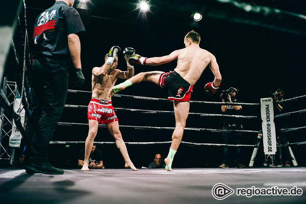 Schneller als ihr Schatten - K1 Rules: Fotos von Domke vs Habibzade bei der Fight Night 2017 in Mannheim