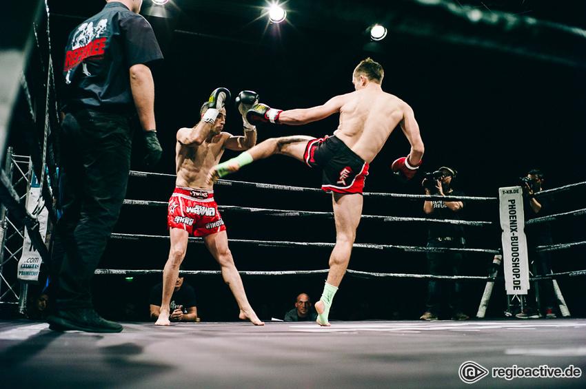 Domke (Sieg) vs Habibzade, A-Klasse Kampf der Fightnight Mannheim