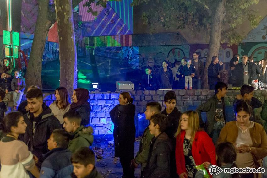 Impressionen vom Nachtwandel im Jungbusch Mannheim 2017