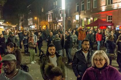 Der erste Tag - Der Nachtwandel 2017 im Mannheimer Jungbusch feiert entspannte Wiedergeburt