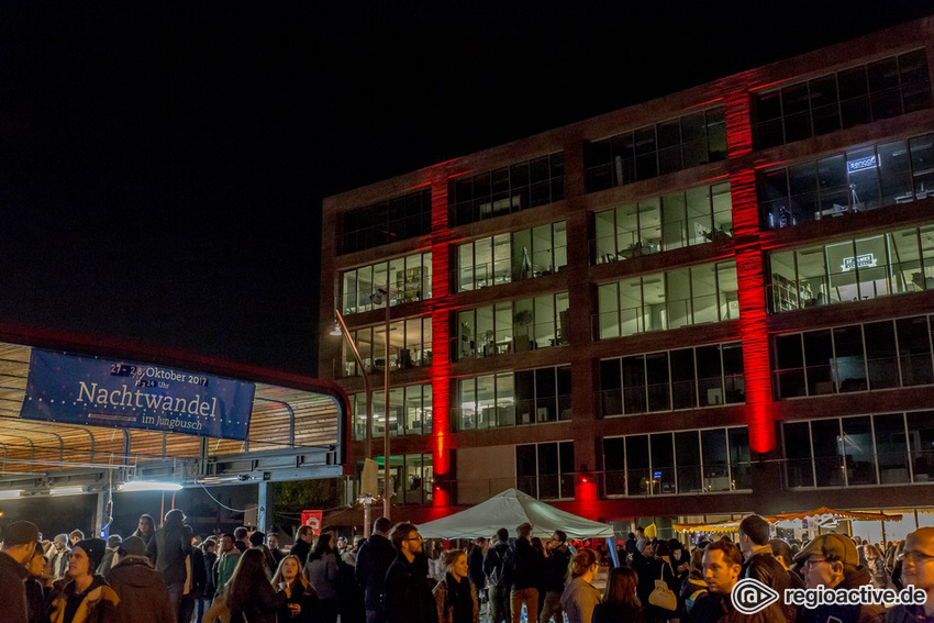 Zum 14. Mal kunterbunt und kollektiv - Das Programm des Nachtwandels 2018 im Jungbusch Mannheim steht fest