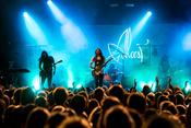 Live-Bilder von Alcest als Special Guest von Anathema live in Frankfurt