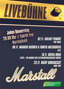 LiveBühne in Heidelberg, Konzert, 23.11.2017, Marstallcafé -
