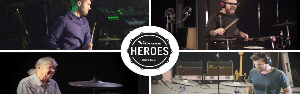 Gewinne ein Roland Drum Gear-Set im Wert von 2.000 Euro