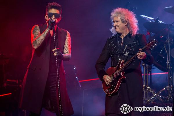 Alt + jung - Groß: Live-Bilder von Queen + Adam Lambert in der Münchner Olympiahalle
