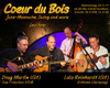 Coeur du Bois in Frankfurt am Main, Konzert, 23.11.2017, Die Fabrik - Tickets -