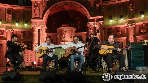 Musikalischer Kirchgang - Django Memories Quartet und Biréli Lagrène krönen Enjoy Jazz 2017