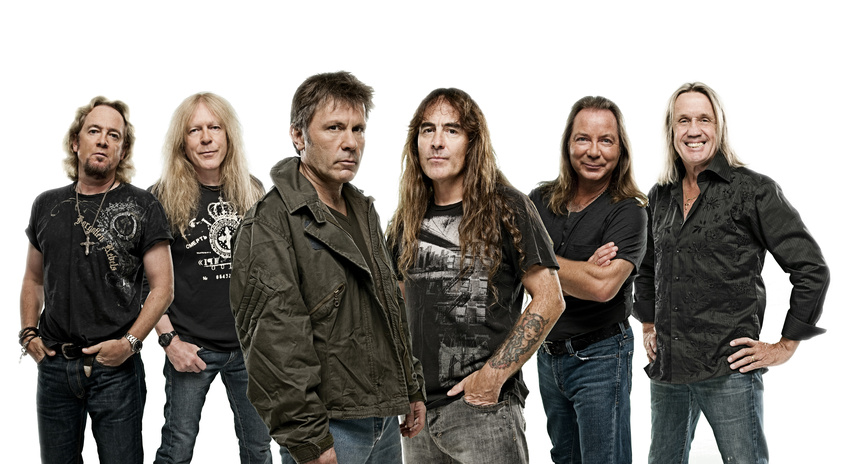 Iron Maiden (Pressebild, 2017)