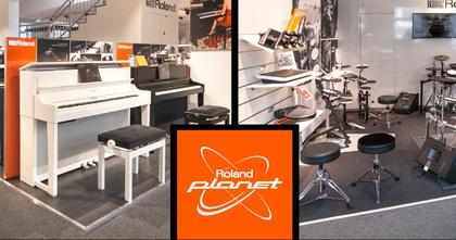 Los geht's am 25. November: Roland eröffnet neuen Planet Store in Frankfurt