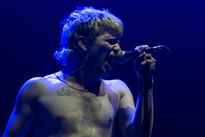 Shirtless - Bilder von Pears als Opener von Rise Against live in der Festhalle Frankfurt