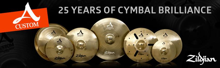 Gewinne die limitierte Sonderedition des A Custom Anniversary Ride und andere tolle Preise von Zildjian