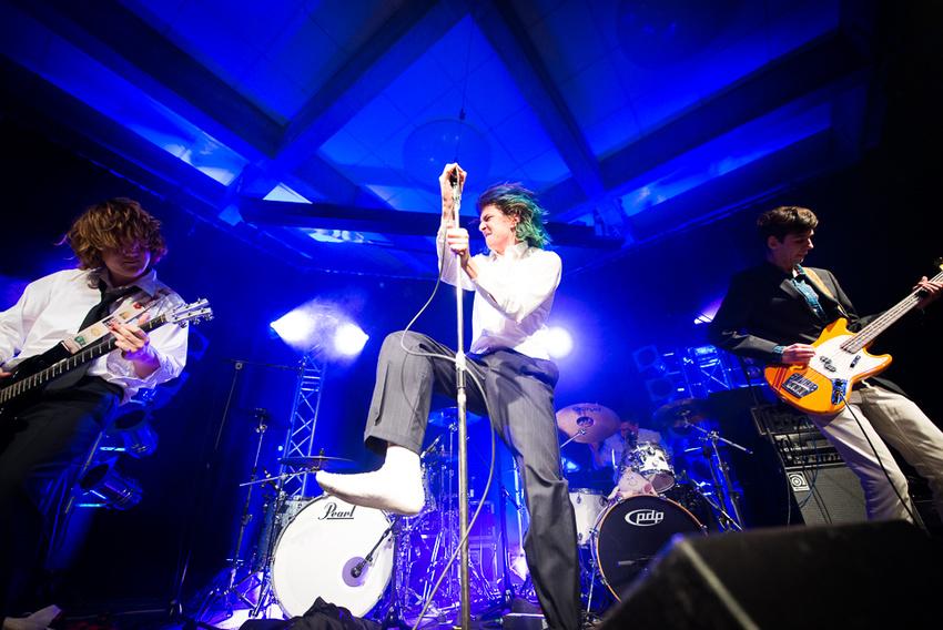 Nachwuchstalente - Abschlusskonzert des Bandsupports Mannheim am 9. Dezember im Forum