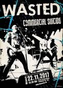Commercial Suicide in Braunschweig, Konzert, 22.11.2017, NeXus -