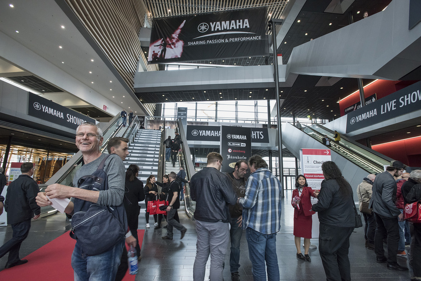 Yamaha will sich so umfassend wie nie zuvor auf Musikmesse und Prolight + Sound 2018 präsentieren