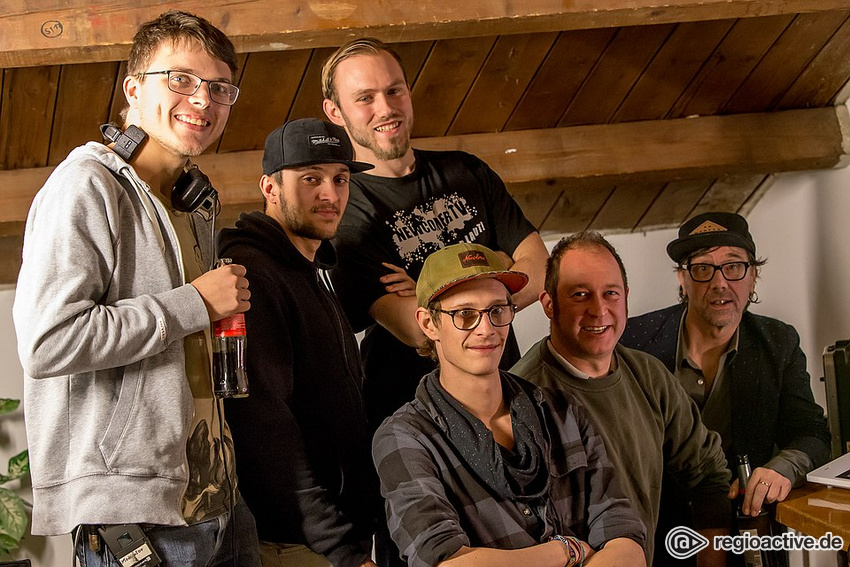 Das NewcomerTV-Team (live hinter den Kulissen bei NewcomerTV in Oberursel 2017)