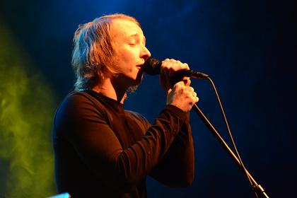Zu zweit auf großer Bühne - Live-Bilder von OH FYO! als Support von Lord of the Lost in Frankfurt
