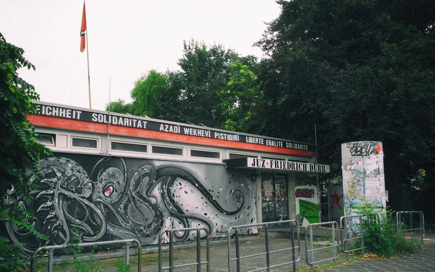 Das Jugendzentrum Friedrich Dürr in Mannheim