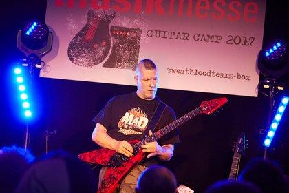 Musikmesse gibt erste Namen für Guitar Camp 2018 bekannt