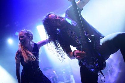 Symphonien aus Bielefeld - Xandria: Live-Bilder der Symphonic-Metaller beim Knock Out Festival in Karlsruhe