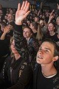 Mit Flash: Live-Bilder von Fünf Sterne Deluxe im Hamburger Docks